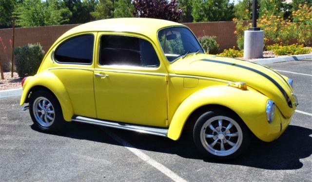 1971 volkswagen super beetle vw classic vintage much new retro bug clean driver. Black Bedroom Furniture Sets. Home Design Ideas