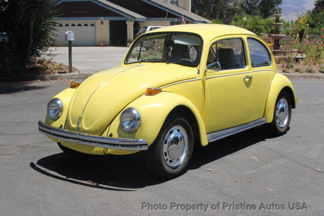1971 vw beetle blue plate california car looks and drives great. Black Bedroom Furniture Sets. Home Design Ideas