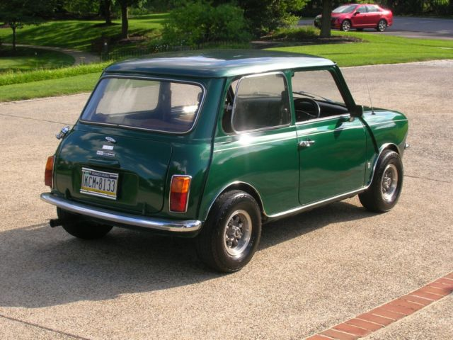 1972 austin mini cooper clubman rhd great condition very low miles beautiful car. Black Bedroom Furniture Sets. Home Design Ideas