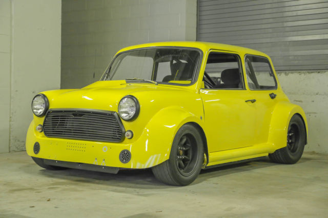 How To Clean Leather Car Seats >> 1972 Austin Mini Cooper - Widebody / RWD / Tube Chassis ...