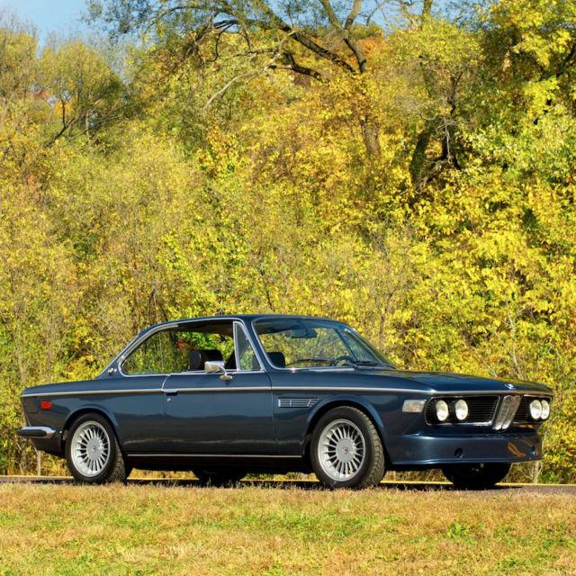 1972 BMW 3.0 CSI,Rare Euro Spec Model,4-speed Getrag