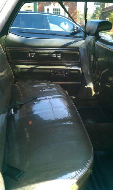 1972 Buick Electra 225 Custom 4 Door Hardtop One Owner