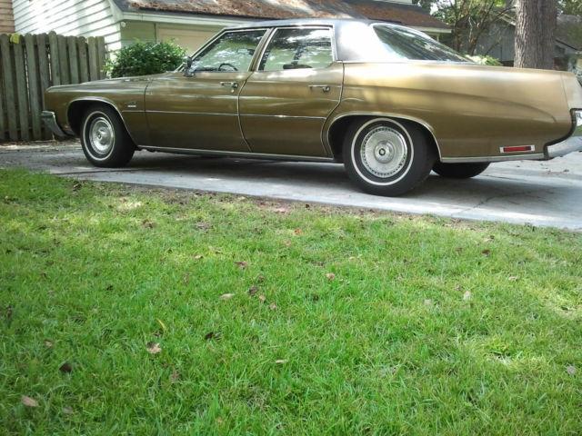1972 Buick Lesabre Custom Sedan 4 Door 5 7l For Sale In