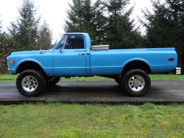 1972 Chevrolet 3 4 Ton 4x4 Modified 350 6 Quot Lift Kit 18