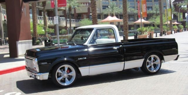 1972 chevrolet c10 pickup single cab custom 67 72. Black Bedroom Furniture Sets. Home Design Ideas