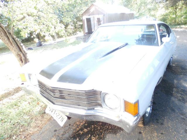 1972 Chevrolet Chevelle Malibu For Sale In Cleveland Ohio