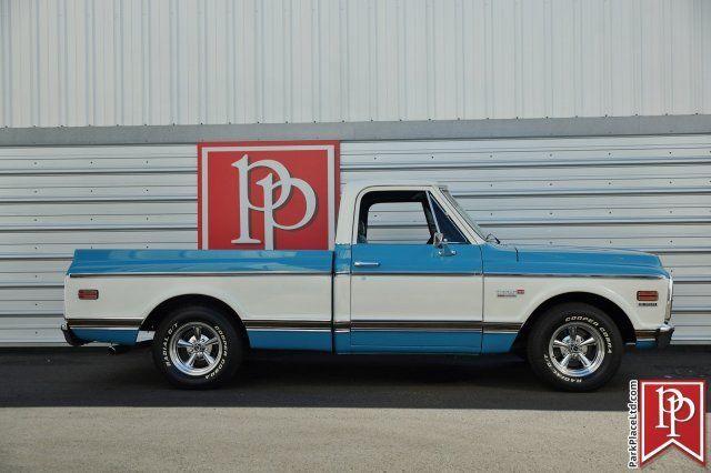 Chevrolet Of Bellevue >> 1972 Chevrolet Cheyenne C10 Super Pickup, Blue/White for ...