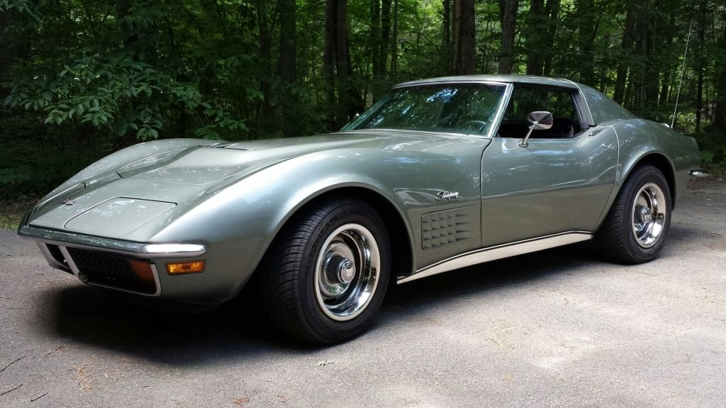 1972 Chevrolet Corvette    LT1    Coupe  Steel Cities Gray