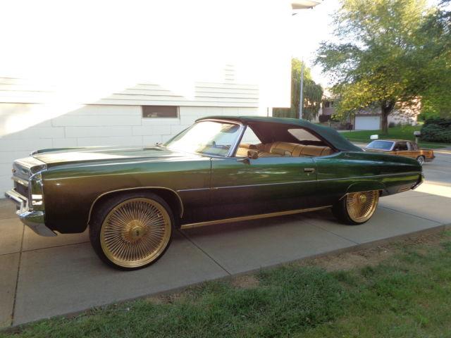 1972 Chevrolet Impala Convertible Custom For Sale  Photos