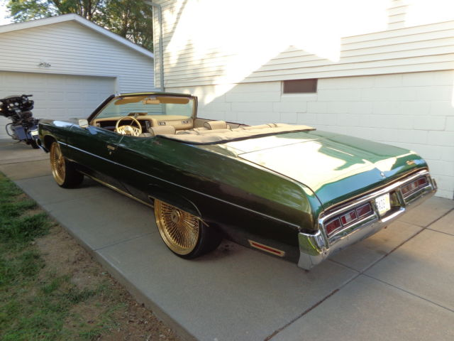 1972 Chevrolet Impala Convertible Custom