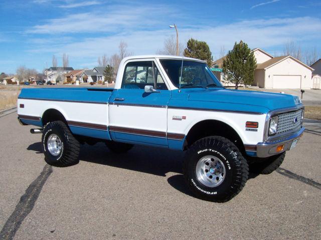 Chevy Silverado Guy >> 1972 Chevrolet K10 4X4, Cheyenne Super, Restored, Rust ...
