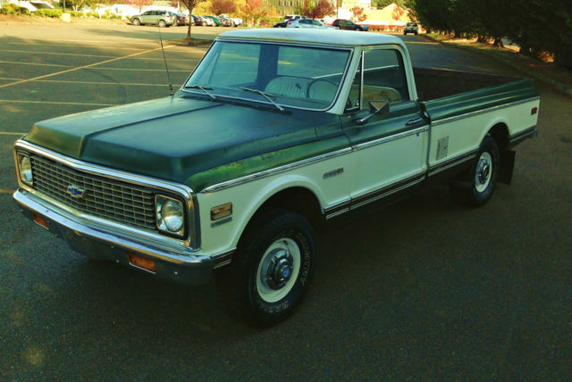 1972 chevrolet k10 chevy truck 4x4 4wd spid build sheet 350 cheyenne no reserve for sale in. Black Bedroom Furniture Sets. Home Design Ideas