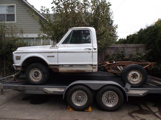 1967-72 chevy truck short bed