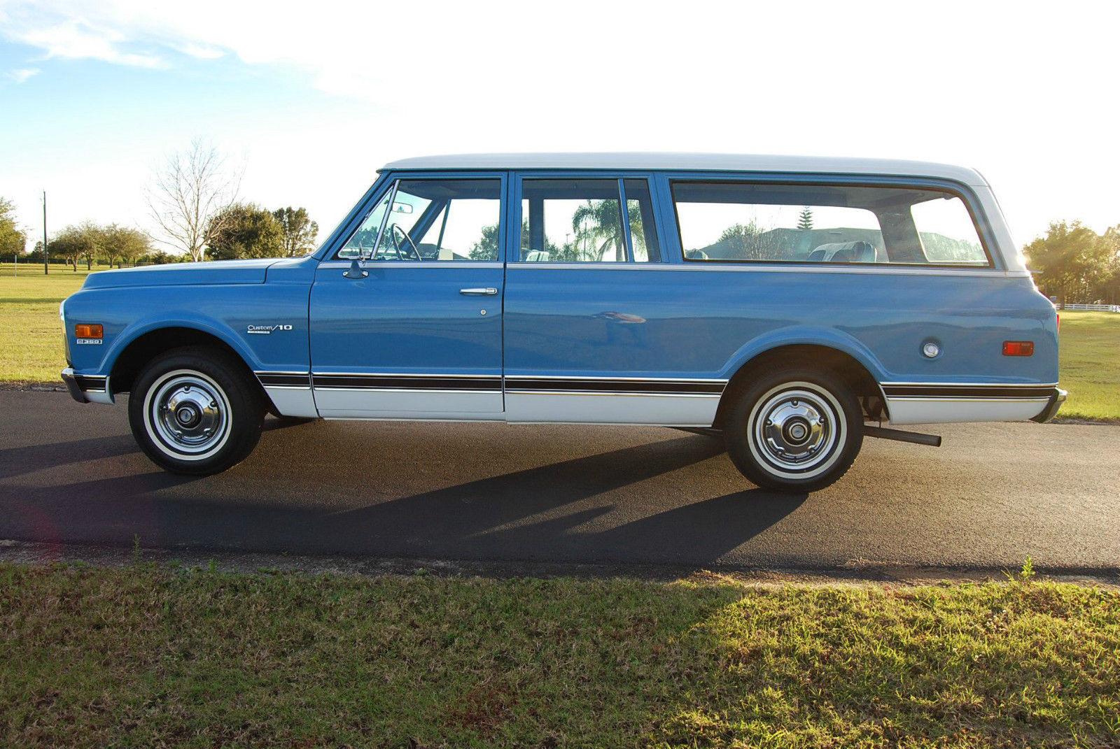 1972 Chevrolet Very Rare 3 Door Suburban for sale in