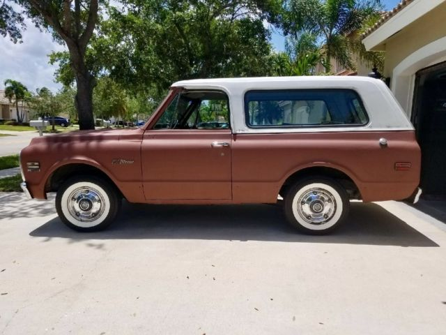 1972 Chevy Blazer 2wd For Sale Photos Technical
