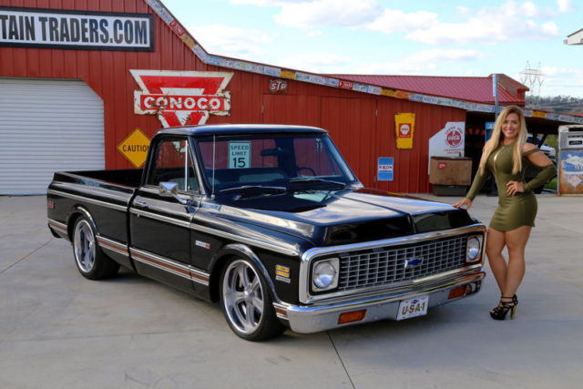 1972 Chevy C10 350 V8 12 Bolt Factory Air Condition Ps Pdb