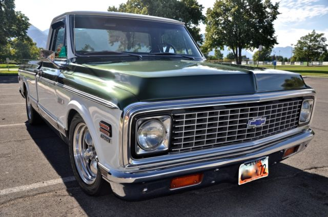 1972 Chevy Cheyenne Super Truck For Sale Photos