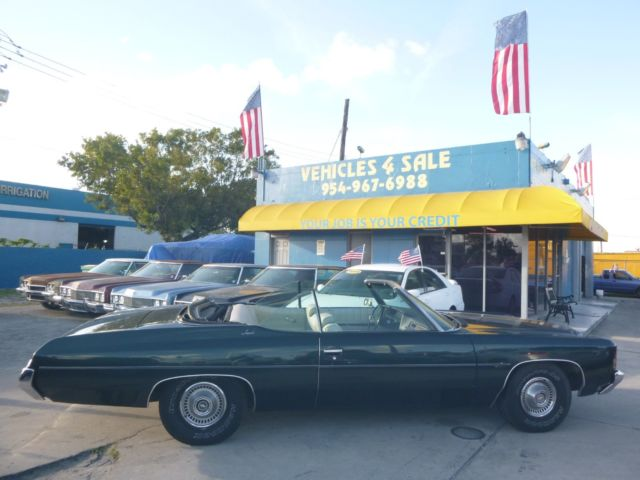 1972 CHEVY IMPALA CONVERTIBLE CAPRICE CHEVROLET CLASSIC COLD