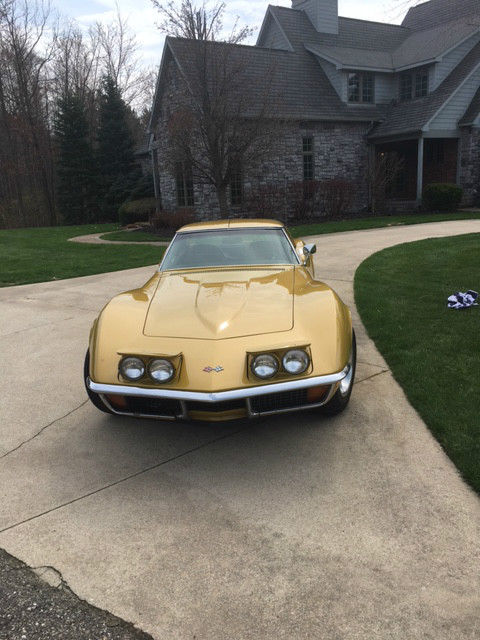 1972 Corvette Stingray Coupe 4 Speed Beautiful Reliable