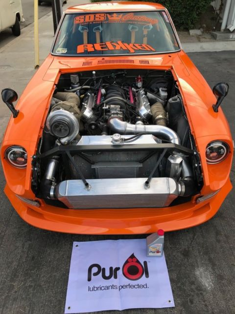 1972 Datsun 240z Ls V8 Turbo Widebody For Sale  Photos  Technical Specifications  Description