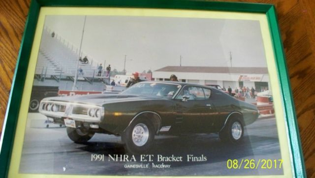 1972 Dodge Charger Rallye Rare H Code Original Owner