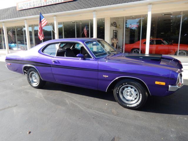1972 Dodge Demon Plum Crazy Purple 408 Stroker Pistol Grip