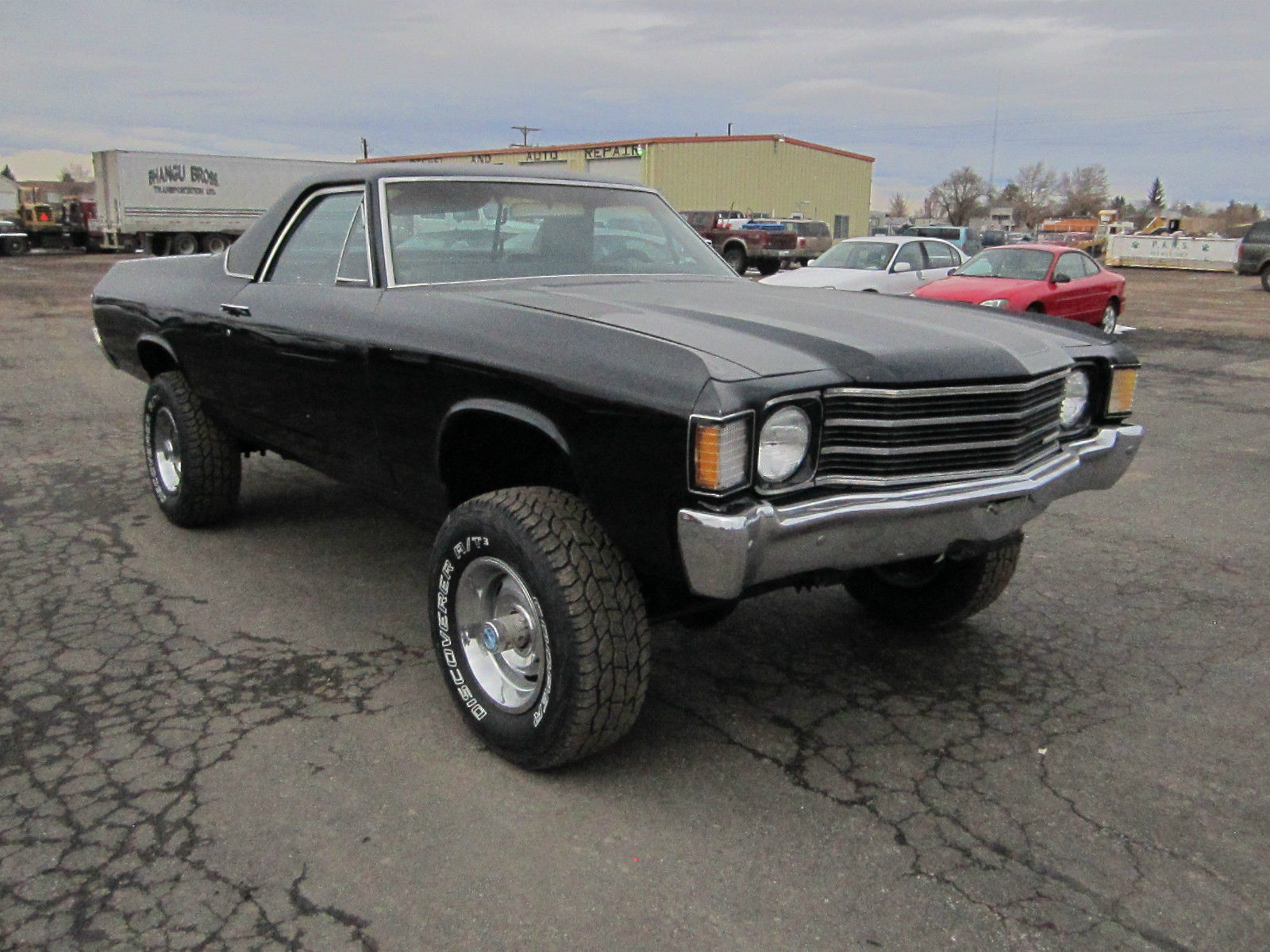 1972 el camino 4x4 new paint for sale in strasburg
