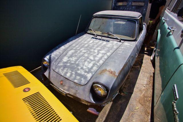 1972 Fiat 850 Spider  U0026 1973 Fiat 850 Spider  2