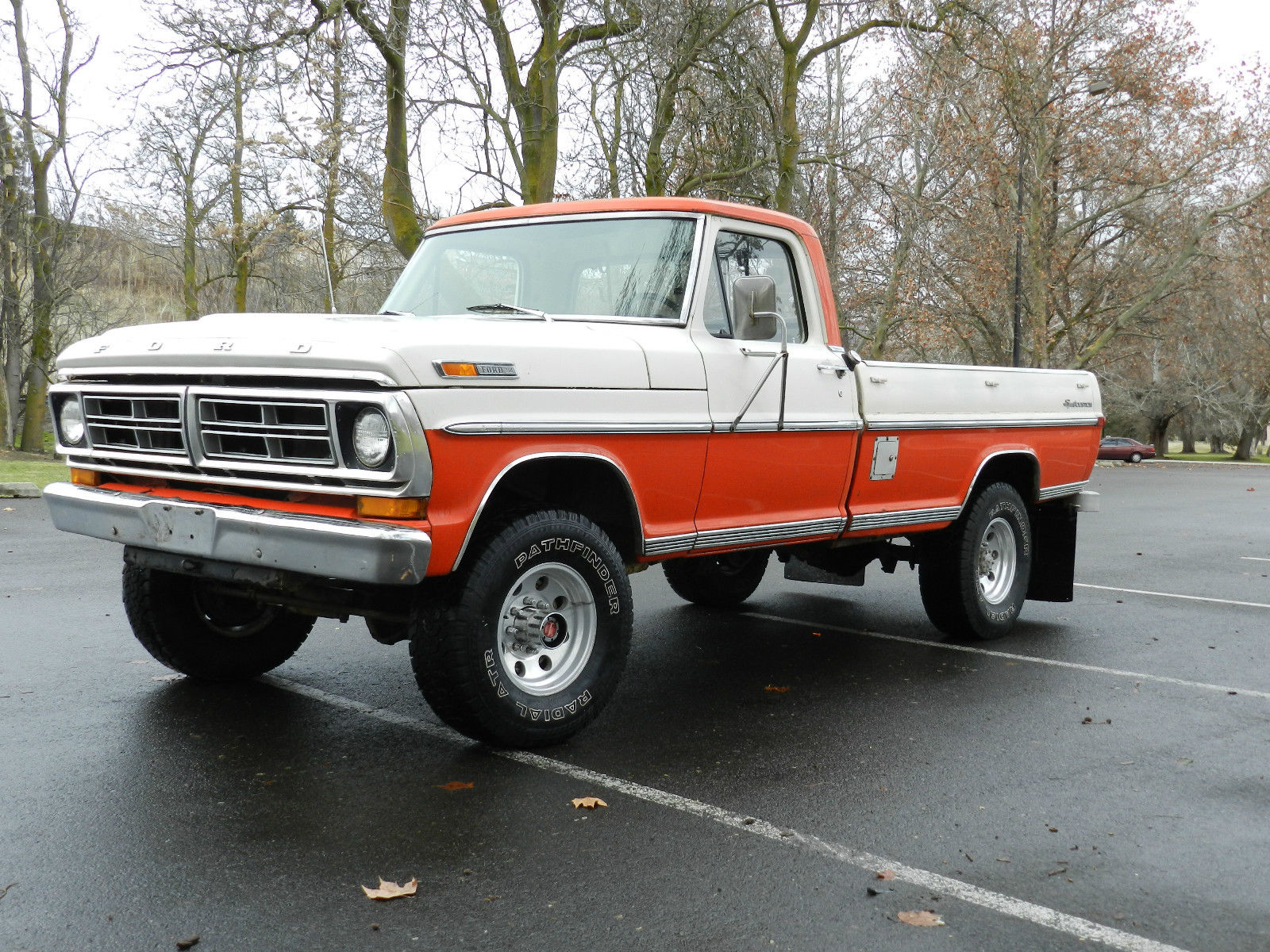 1972 Ford F250 4x4 For Sale >> 1972 Ford f250 SportCustom 4x4 highboy rare find original docs must see classic for sale in ...