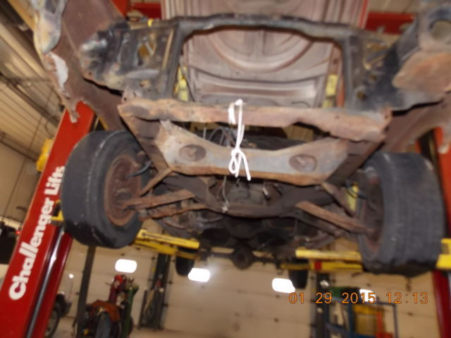 1972 Ford Mustang Mach 1 Parts Vehicle No Motor No