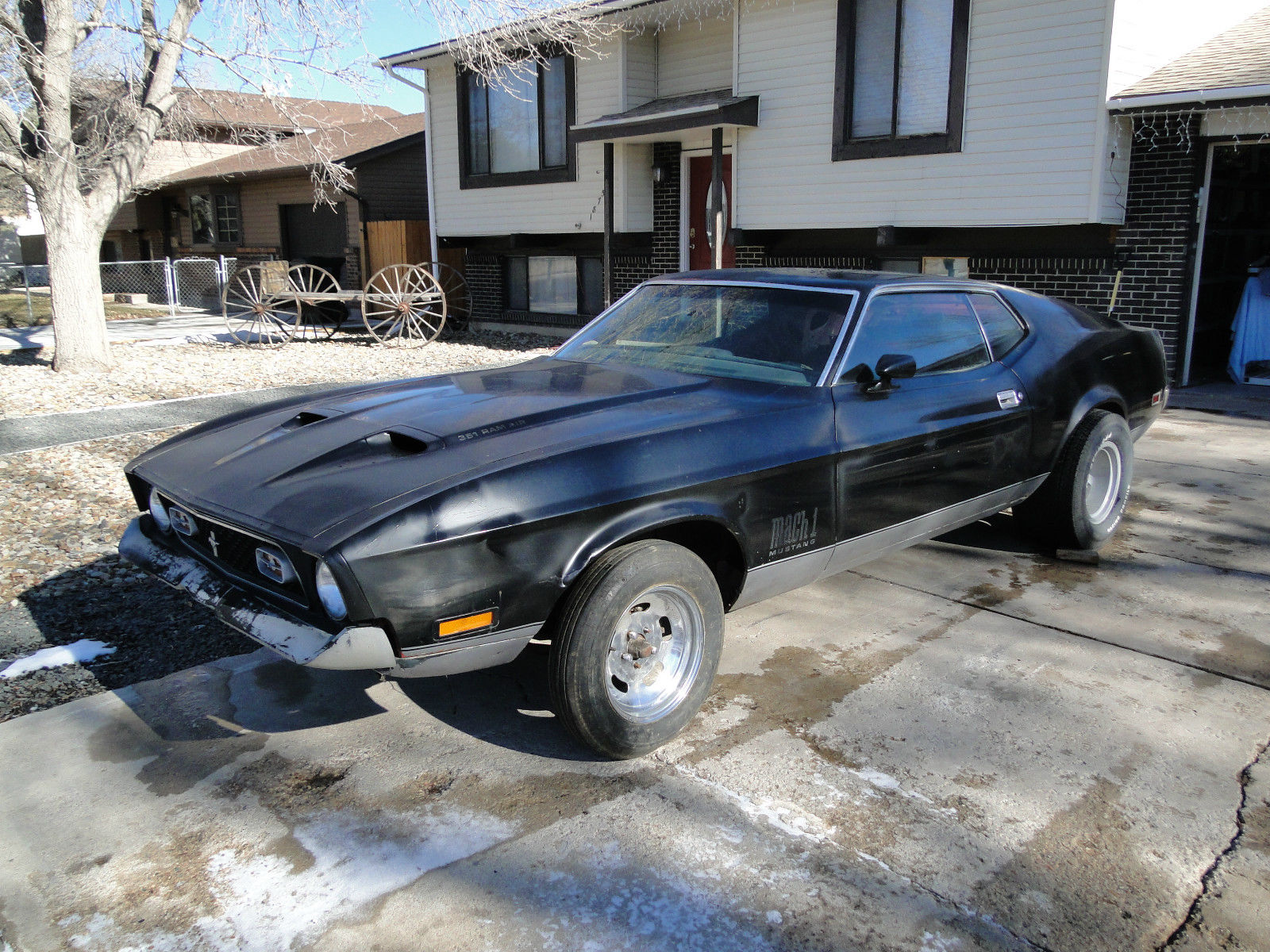1972 ford mustang mach 1 q code 351 4v sportsroof 71 73 project