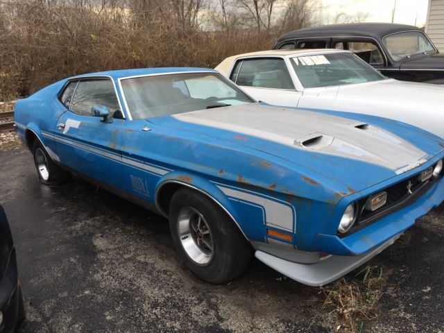 1972 Ford Mustang Mach I Mach 1 Low Reserve For Sale In Alton