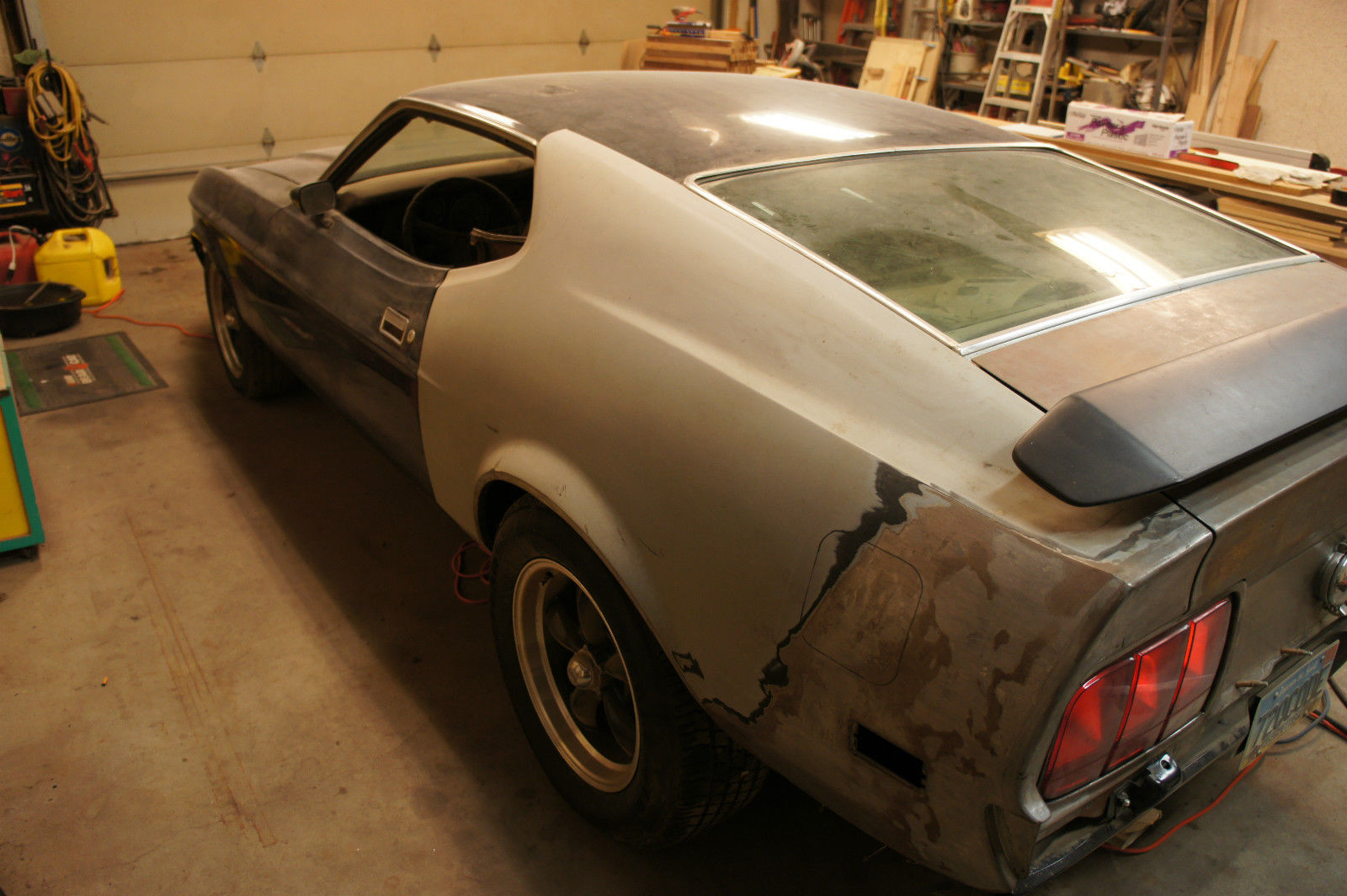 1972 ford mustang q code cobra jet restomod custom project car