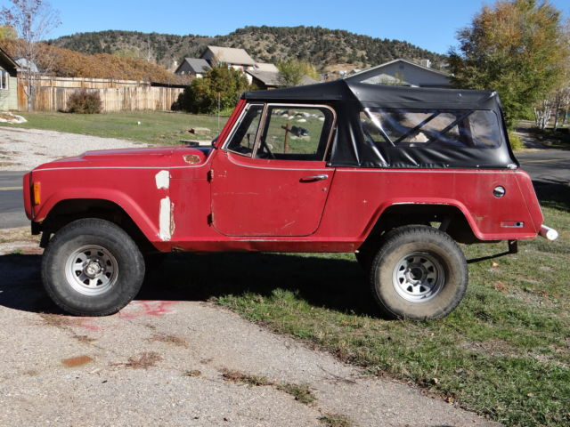 1972 Jeep Commando Jeepster Base 5 0 304 Amc Spring Overed