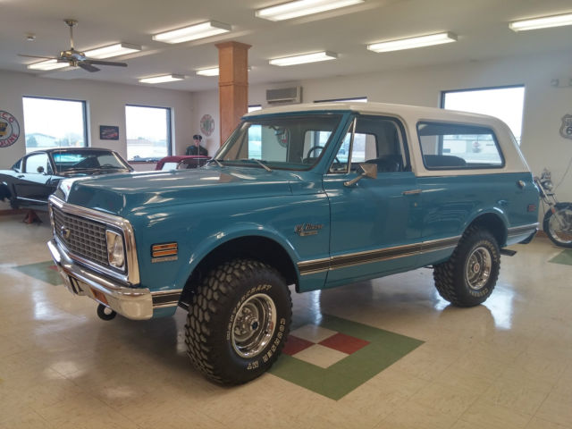 1972 K5 Blazer With 5 3 Vortec Fully Restored For Sale In