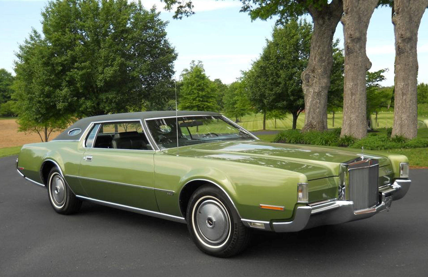 1972 lincoln continental low low mileage 21 000 spanking. Black Bedroom Furniture Sets. Home Design Ideas