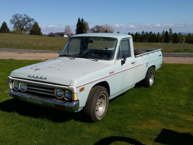 1972 mazda b1600 sport truck first year classic japanese pickup. Black Bedroom Furniture Sets. Home Design Ideas