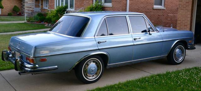 1972 mercedes 280 se for Mercedes benz 700 series price