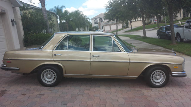 1972 mercedes benz 280 se w108 for sale in orlando for Mercedes benz w108 for sale