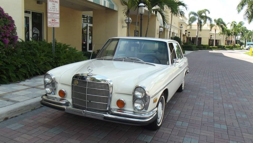 1972 mercedes benz 280 sel 4 5 for sale in sunnyvale for Mercedes benz sunnyvale