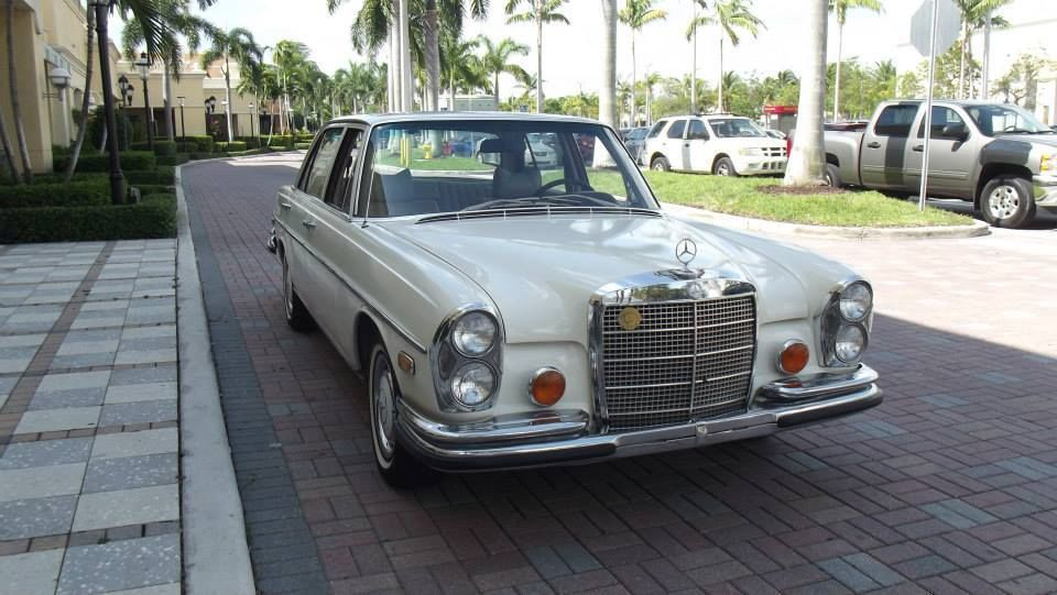 1972 mercedes benz 280 sel 4 5 for sale in sunnyvale for Mercedes benz california