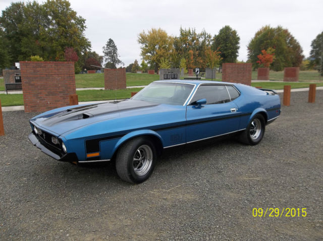 1972 Numbers Matching Ford Mustang Mach 1 Not Shelby