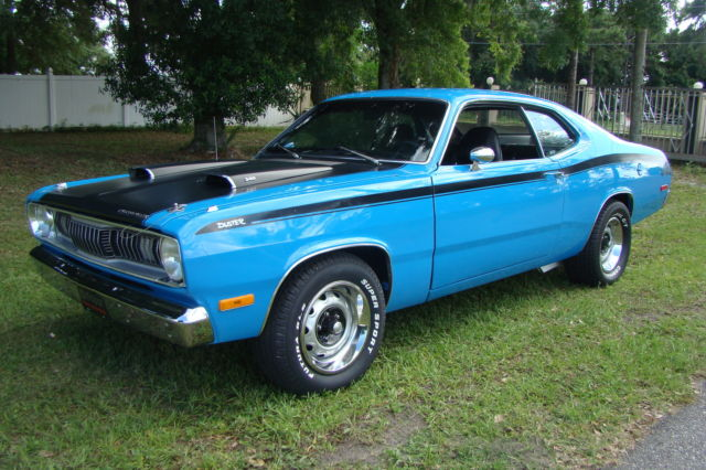 1972 plymouth duster 340 code h 4 speed hurst for sale in orlando florida united states. Black Bedroom Furniture Sets. Home Design Ideas