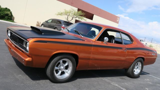 1972 Plymouth Duster 383 Prowler Orange 727 Trans Rust