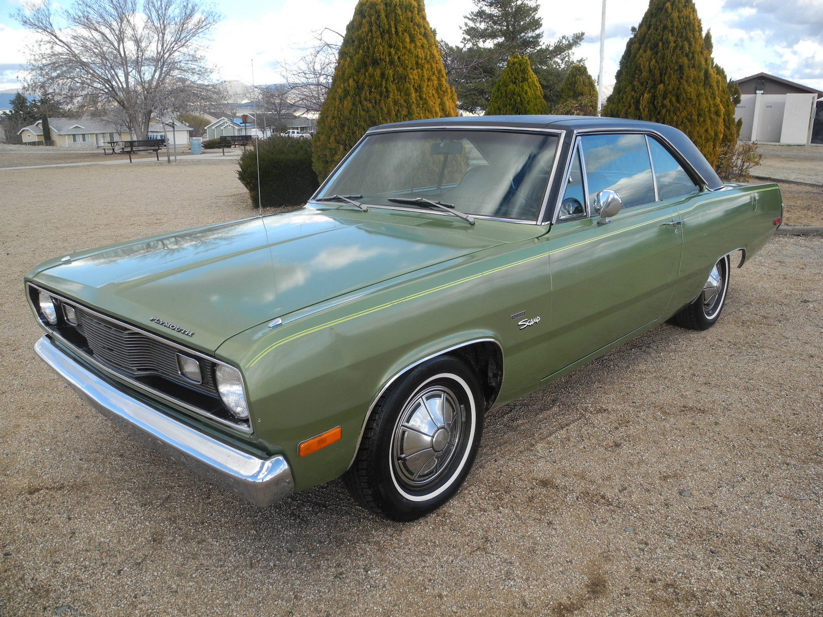 1972 plymouth scamp one owner 40 years all original. Black Bedroom Furniture Sets. Home Design Ideas