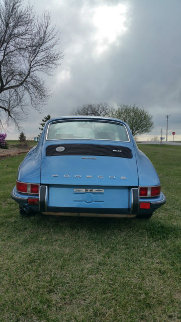 1972 Porsche 911 S Coupe Quot One Dr Owner