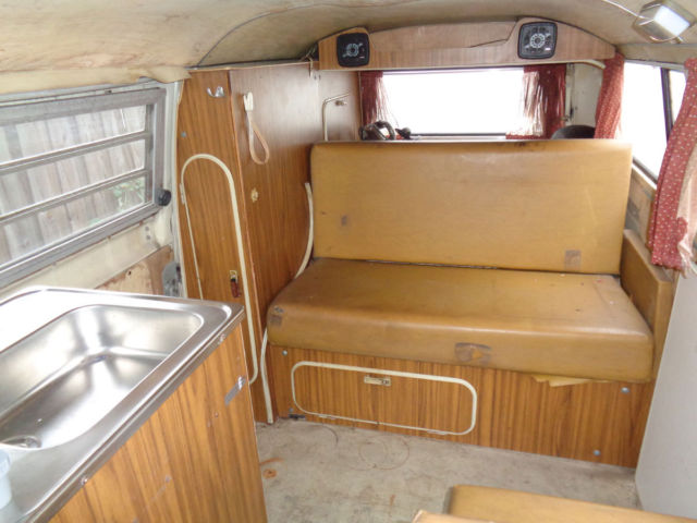 2fe92135df 1972 Volkswagen Westfalia Camper Bus Tin Top Campmobile