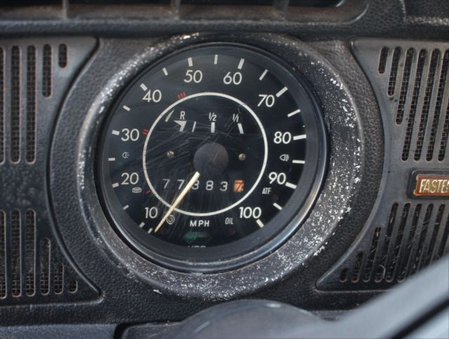 1972 Vw Beetle Bug Car 2 Door Great Condition Runs Good