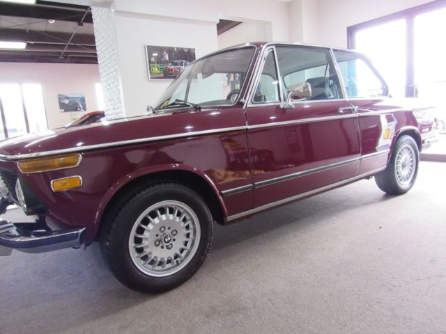 1973 Bmw 2002 Roundie Last Year New Motor Factory Sunroof A C 325 Seats 5 Speed