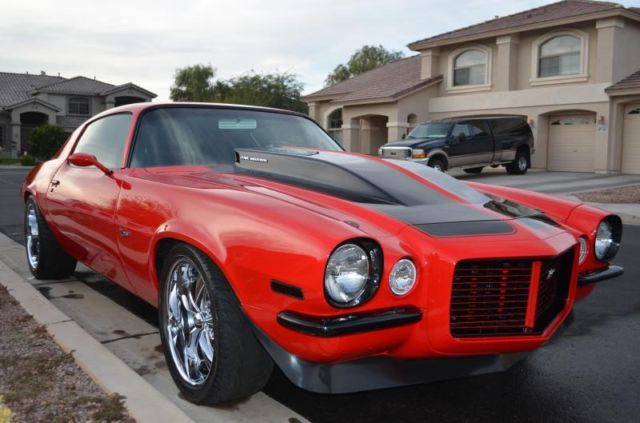 1973 Chevrolet Camaro Custom Pro Touring Viper Red W